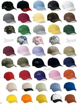 100 Valucap Adult Baseball HaUnstructured Cotton Cap VC300A