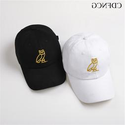 2019 Fashion Trendy Pop Hip Hop Baseball Cap Embroidery Owl