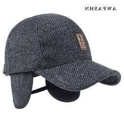 2018 New Protection Ear Baseball Cap Winter <font><b>Hat</b>