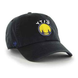 '47 Brand Golden State Warriors Clean Up Slouch Dad Hat Cap