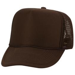 OTTO 5 Panel High Crown Polyester Foam Front Mesh Back Snapb