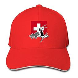 485a079701e Adjustable Baseball Caps Swiss Alpine Skiing Unisex Dad Hat