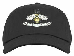 ANY MEMES ITALIAN LUXURY BEE SNAKE DAD HAT STRAPBACK CURVED
