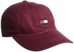 Tommy Hilfiger Men's Ardin Dad Hat, Zinfandel One Size