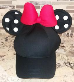 Disney Parks Authentic Minnie Mouse Ears Polka Dot Womens Ba