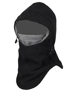 Balaclava Fleece Hood,Heavyweight Cold Weather Winter Motorc