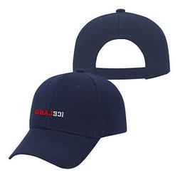 Baseball Cap Iceland Country Name Embroidery Dad Hats for Me