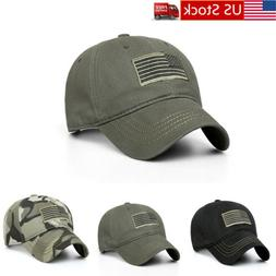 Baseball Cap Mens Tactical Army Cotton Military Dad Hat USA