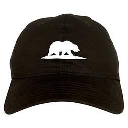 bear logo california republic dad hat baseball