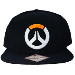 blizzard overwatch game logo snapback cap hat