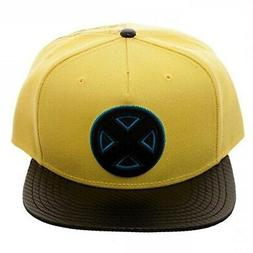 Brand New Men's Marvel X-Men Carbon Fiber Adjustable Yellow