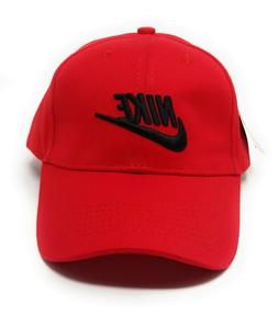brand new nike swoosh adjustable size stripe