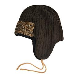 MUK LUKS Cable Knit Trapper Hat