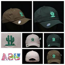 Cactus Dad Hat Plain Baseball Cap Unstructured Fashion Hats