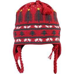 Vermont Originals Christmas Tree Skit Hat, Cardinal, One Siz