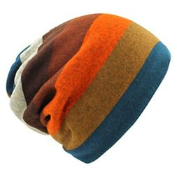 Cold Winter Warm Beanie Cap Casual Knitted Hat Soft Comforta