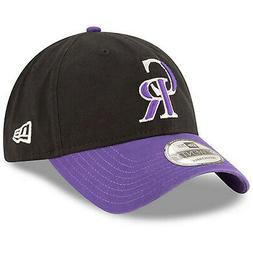 Colorado Rockies CR New Era 9TWENTY Strapback Adjustable Hat
