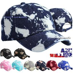 Baseball Cap Washed Cotton Hat Adjustable Solid Dad Polo Sty