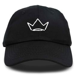 crown dad hat baseball cap stitched embroidered