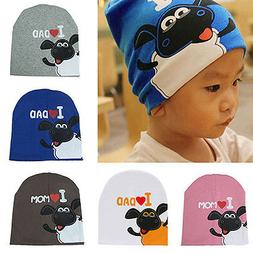 Cute Toddler Infant Baby Kids Boy Girl Soft Warm Hat Cap Bea