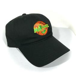 SPACE JAM DAD HAT black relaxed low-profile cap retro 90s mo