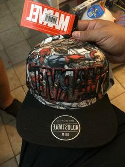 MARVEL DEADPOOL SNAPBACK HAT Bioworld