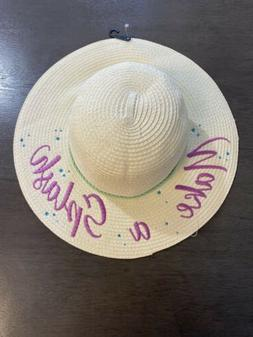 "Disney Women's Big Sun Hat ""Make a Splash"" Beach Summer Flor"