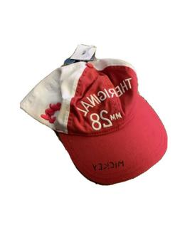 Disney X Junk Food Women's Mickey Mouse Baseball Hat - Red
