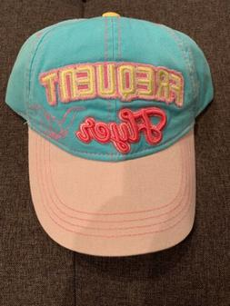 DISNEY PARKS DUMBO FREQUENT FLYER  DAD CAP ADULT NWT