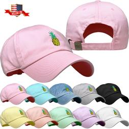 Fashion Dad Hat Baseball Cap Unconstructed Adjustable Polo S
