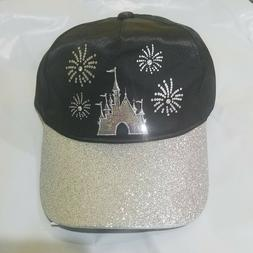 disney fireworks and bling women's  baseball hat