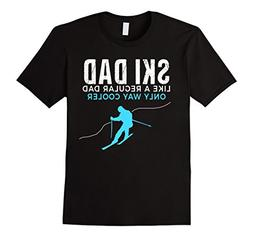 Funny Ski Dad Shirt - Skier Tshirt Gift for Men