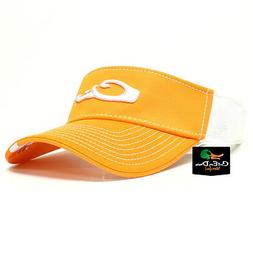 Drake Waterfowl Game Day Fitted Visor Tennessee Orange and W