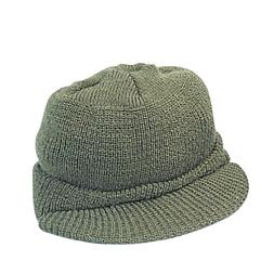Genuine G.I. Olive Drab Wool Jeep Cap bc8912589f7