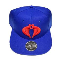 GI Joe Cobra Commander Snapback Hat 80s Cartoon Retro Biowor