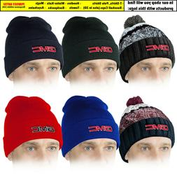 GMC Beanie Hat Embroidered Car Logo Winter Knit Mens Accesso