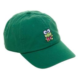 Green Keroppi Frog Dad Hat Cap Adjustable Size Sanrio Biowor