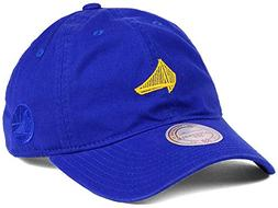 """Mitchell & Ness """"Elements Slouch"""" GS Warriors Strapback Hat"""