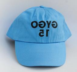 GYGO 15 One Size Fits All Strapback Blue Dad Hat Baseball Ca
