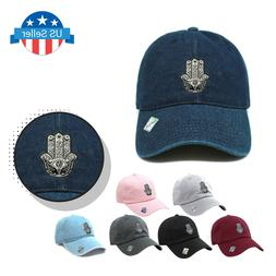 ChoKoLids Hamsa Dad Hat Cotton Baseball Cap Polo Style Low P