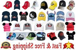 Disney Hats Collection Mickey & Minnie Hat Star Wars Minions