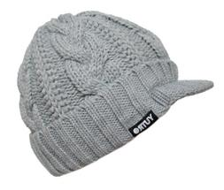 YUTRO Jockey Style Wool Knitted Winter Hat with Visor One Si