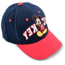Disney Kids Hat for Toddler Ages 2-7 Mickey Mouse Baseball C