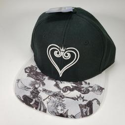 Kingdom Hearts Original Snapback Black Hat Cap New NWT Disne