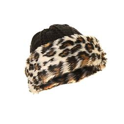 7004ab31b7b Ladies Womens Knitted Winter Hat With Faux Fur Trim