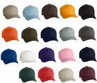 12 Classic Flexfit Blank Baseball Cap6277 Hat Wholesale Bulk