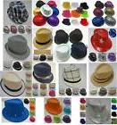 24 FEDORA HAT TRILBY GANGSTER  BUCKET BULK WHOLESALE LOT NEO