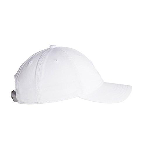 adidas Men's Originals Relaxed Strapback White/White, One Size