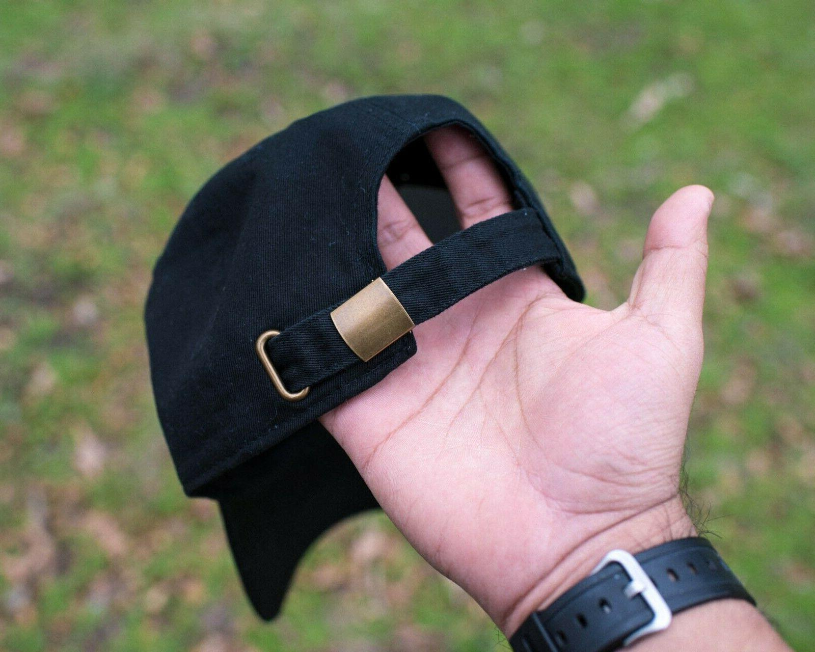 Thicc Thick Black Cap Dad Hat