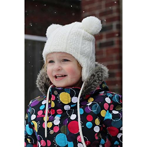 Baby Toddler Warm Winter HAT Mitten Fleece